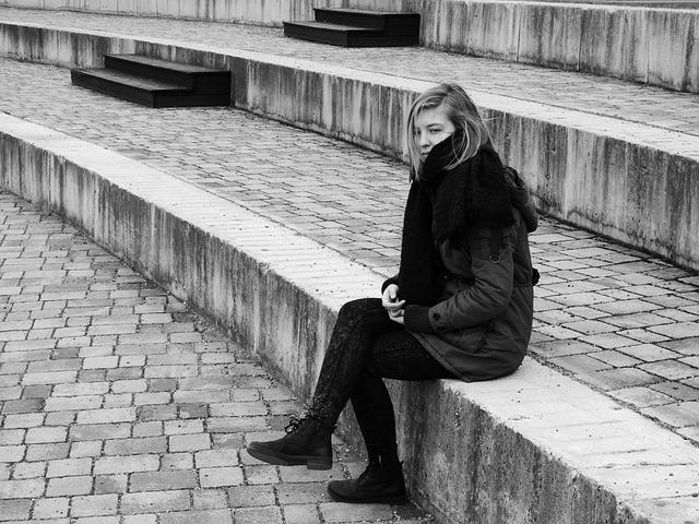 Mujer con tristeza
