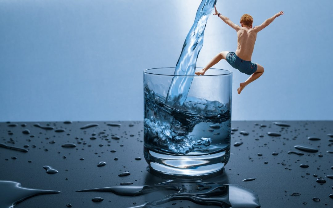 """El vaso """"medio lleno"""": sentir satisfacción en lugar de fracaso"""