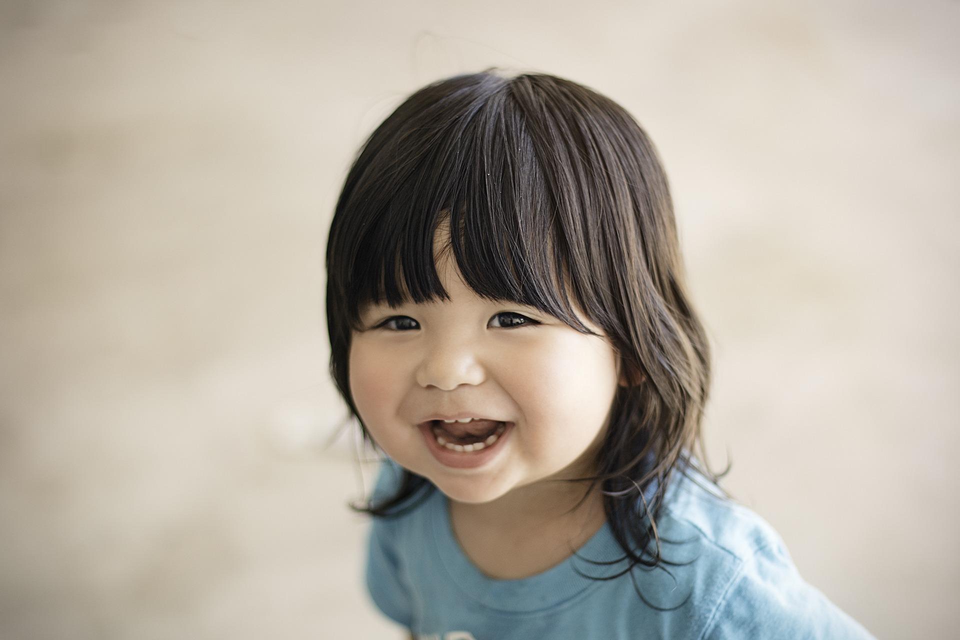 Sonrisa infantil