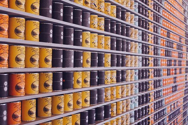 Alimentos en lata