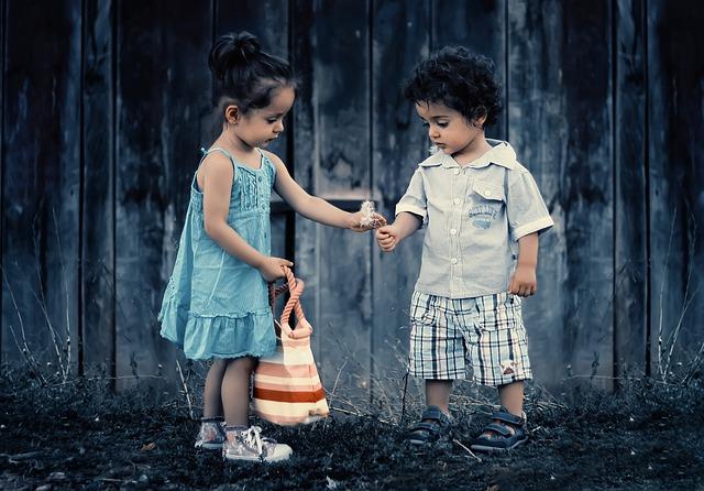 Niños con valores