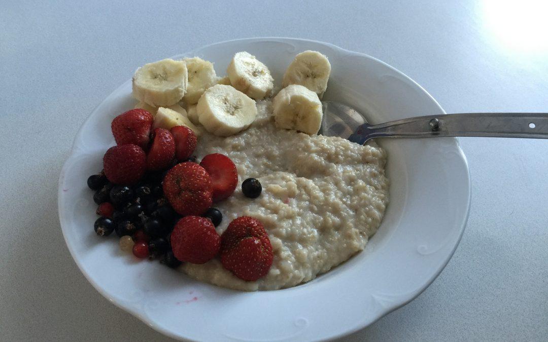 Ideas de desayunos sin alimentos procesados
