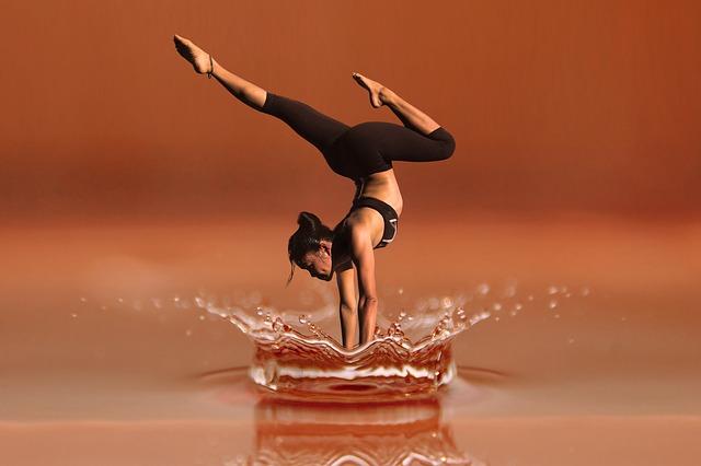 Agua saludable deportistas