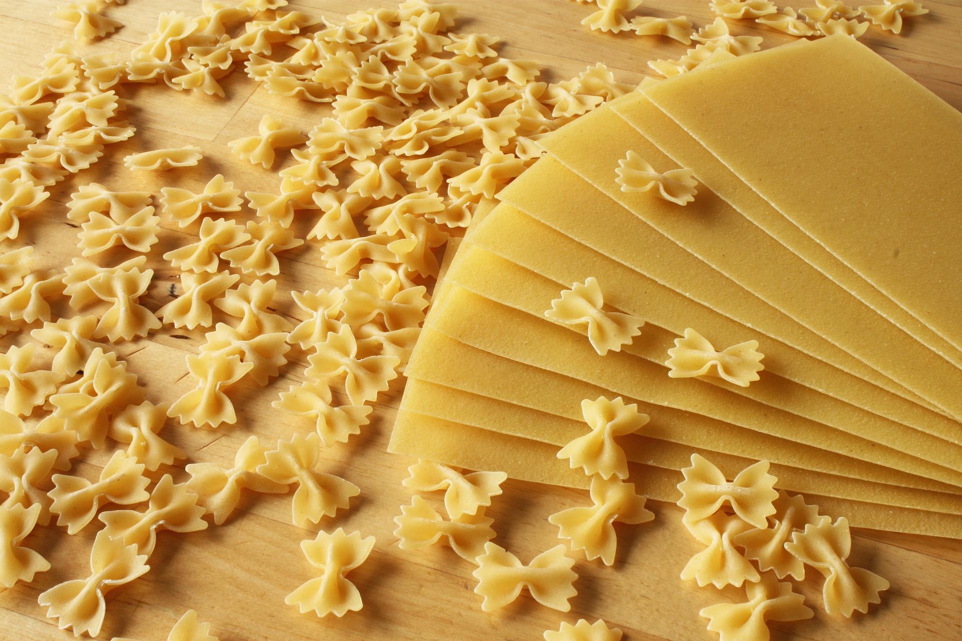el trigo está presente en muchos alimentos