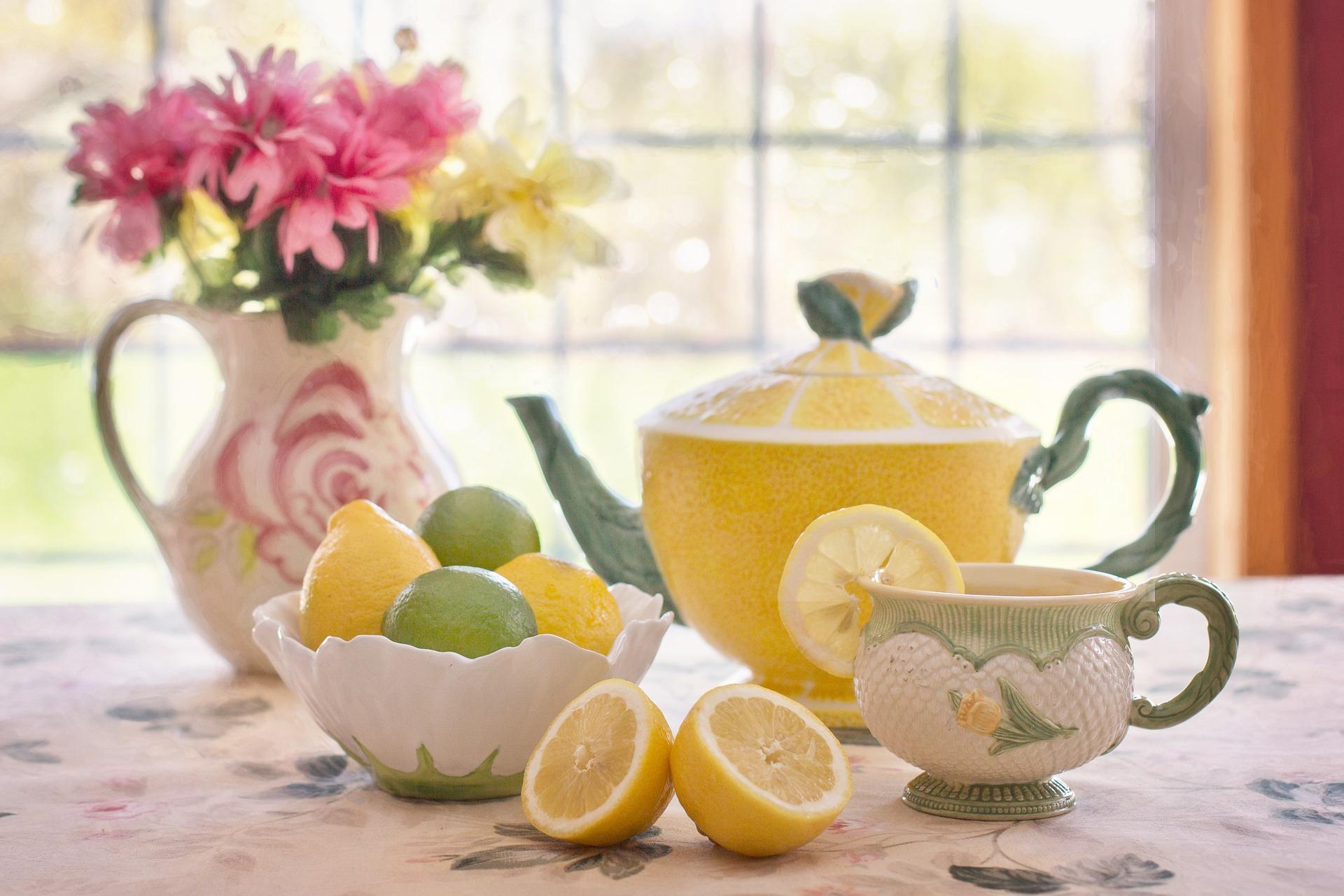 Principios activos del té