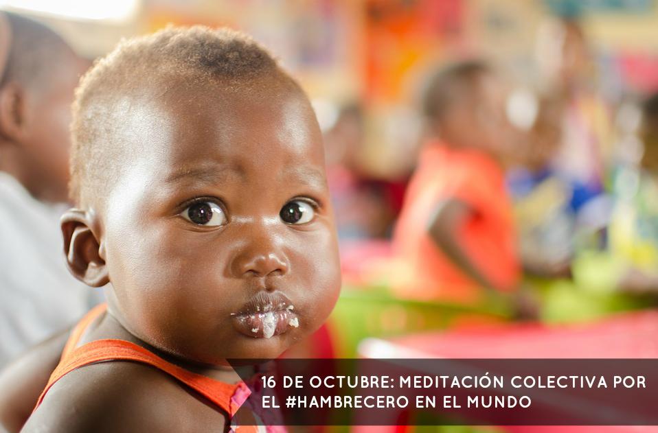 Meditación colectiva: Día Mundial de la Alimentación