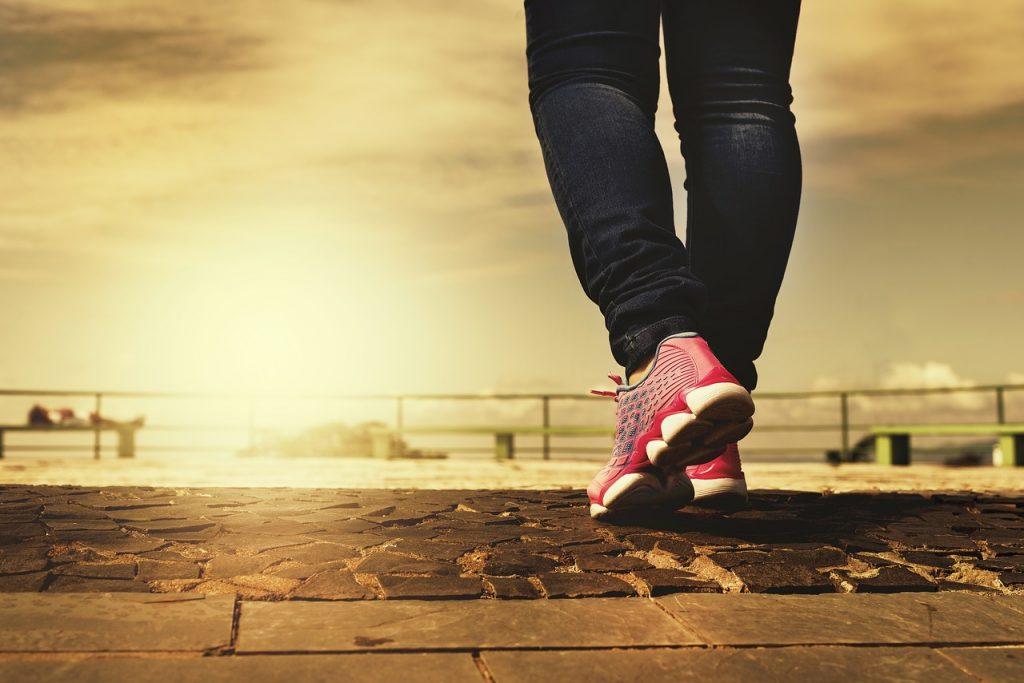 Deportes de cardio preferidos, correr y caminar
