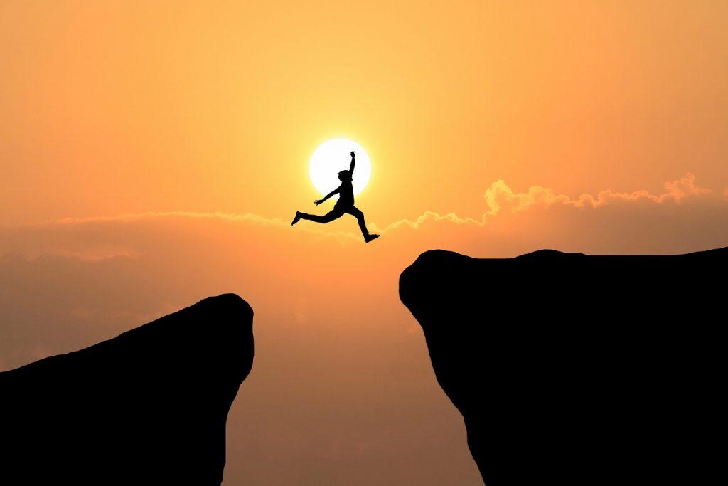 No esperes más y deja la duda, para ser valientes y felices