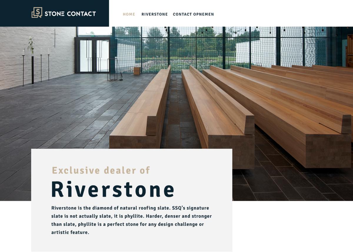 Website detail Stonecontact
