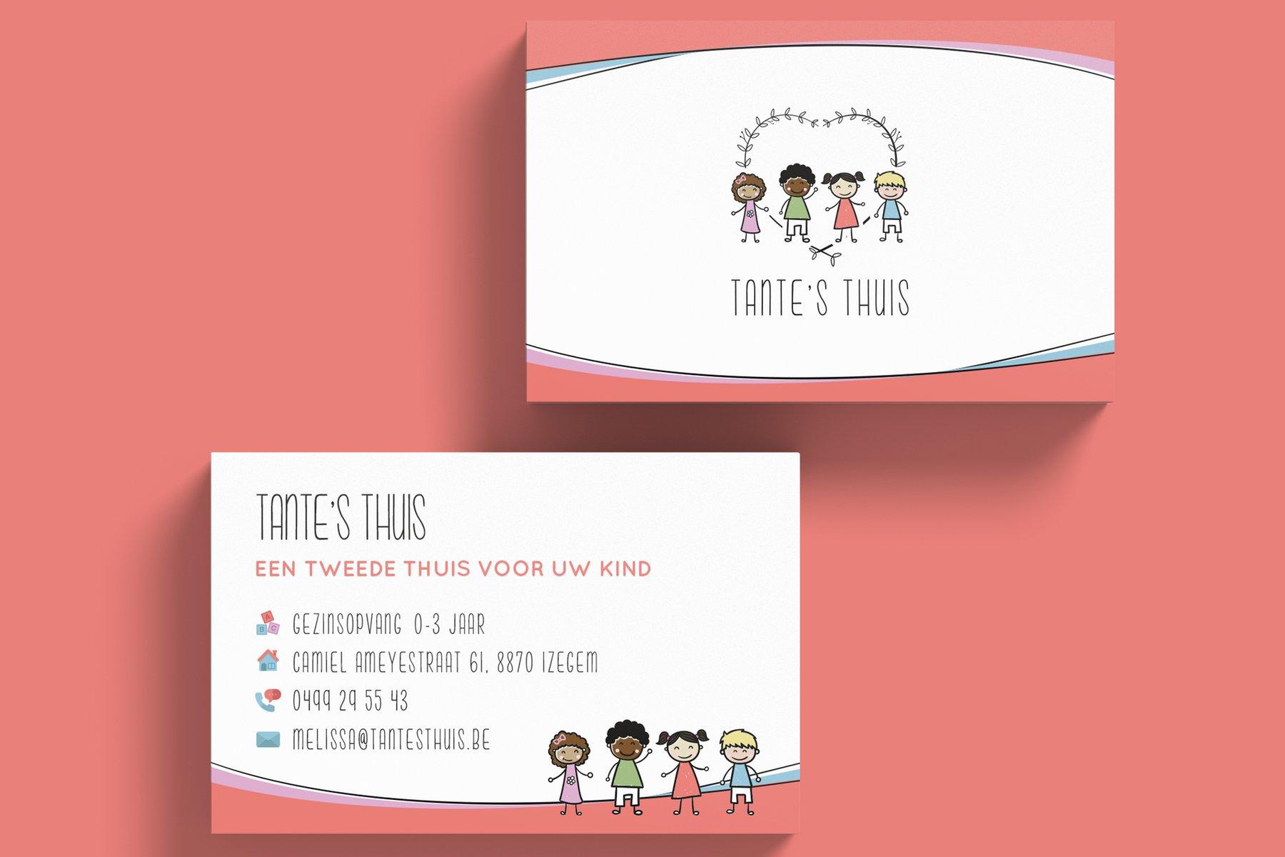 Visitekaartjes Tante's Thuis