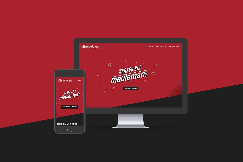 Meuleman website mockup