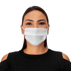 Máscara de Proteção TNT - Dupla Camada