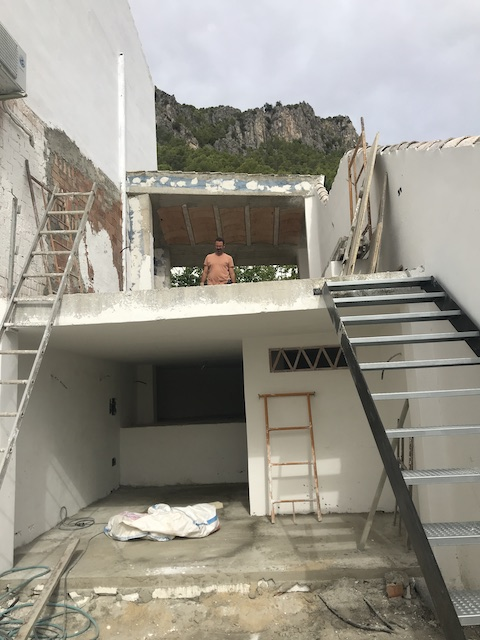 Renovations at the Vultures Nest