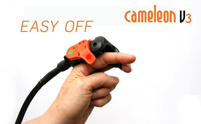 Chameleon finger throttle at FlySpain