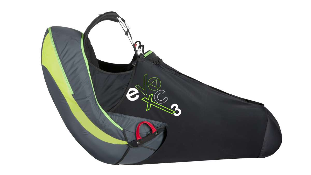 Supair EVO XC3 available form FlySpain shop and paragliding centre