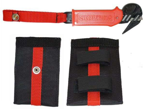 Bridle Hook Knife With Pouch Available at Flyspain Shop.