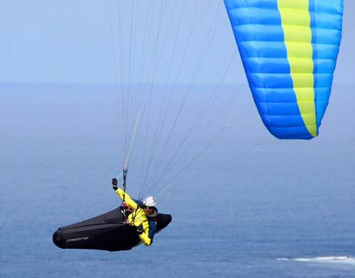 The Ozium 2 is an incredibly lightweight XC pod harness that is designed for adventure flying