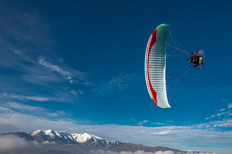 The Gin Vantage 3 represents a new concept of paramotor wing