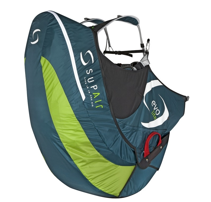 Supair EVO Lite available form FlySpain shop and paragliding centre