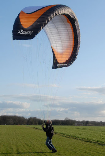 Paramania revo 3 - Now available to test fly and buy and FlySpain Paramotoring and flight school