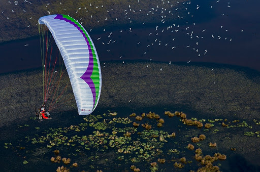 Gin Pegasus 2 paramotor and Free flight 1