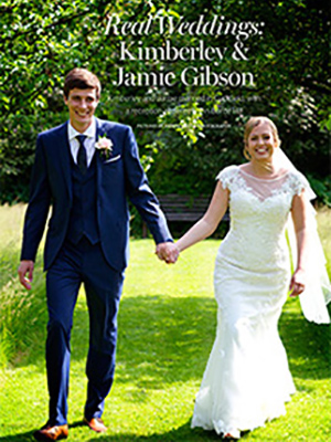 Real Weddings: Kimberley & Jamie Gibson Read the full article
