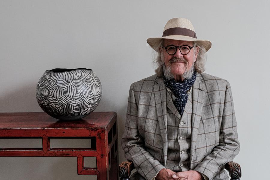 David Roberts Ceramicist Raku Pottery