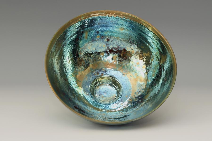 Sutton Taylor Lustre-ware bowl interior
