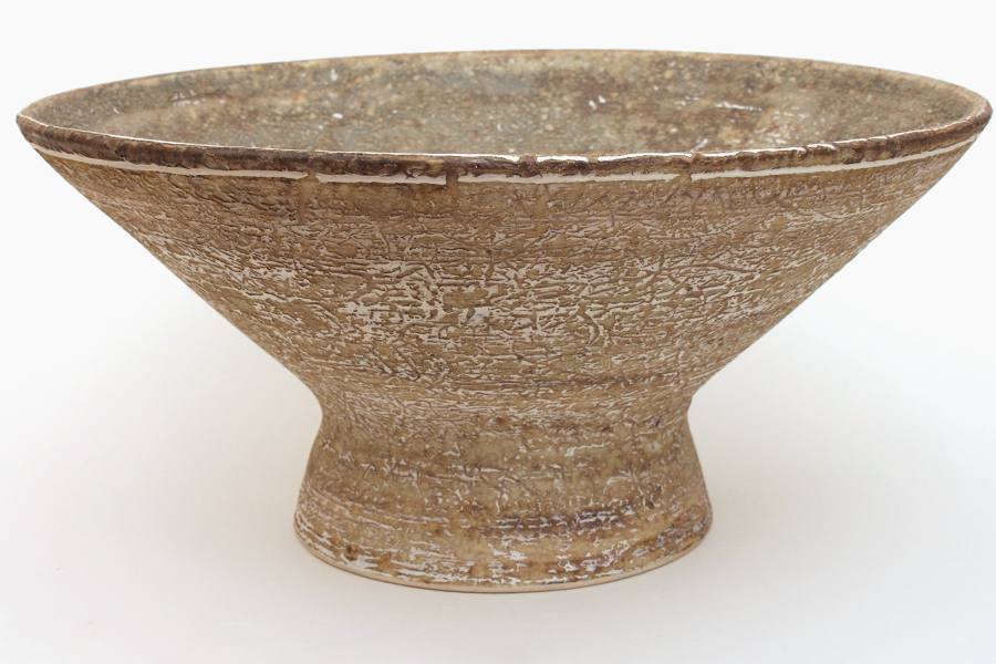 Large ceramic bowl by Chris Carter