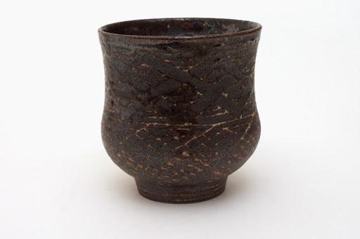 Chris Carter Carved Ceramic Yunomi 1