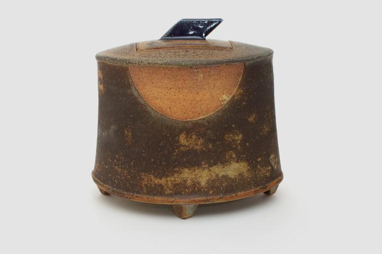 Jeffrey Oestreich Ceramic Tea Jar