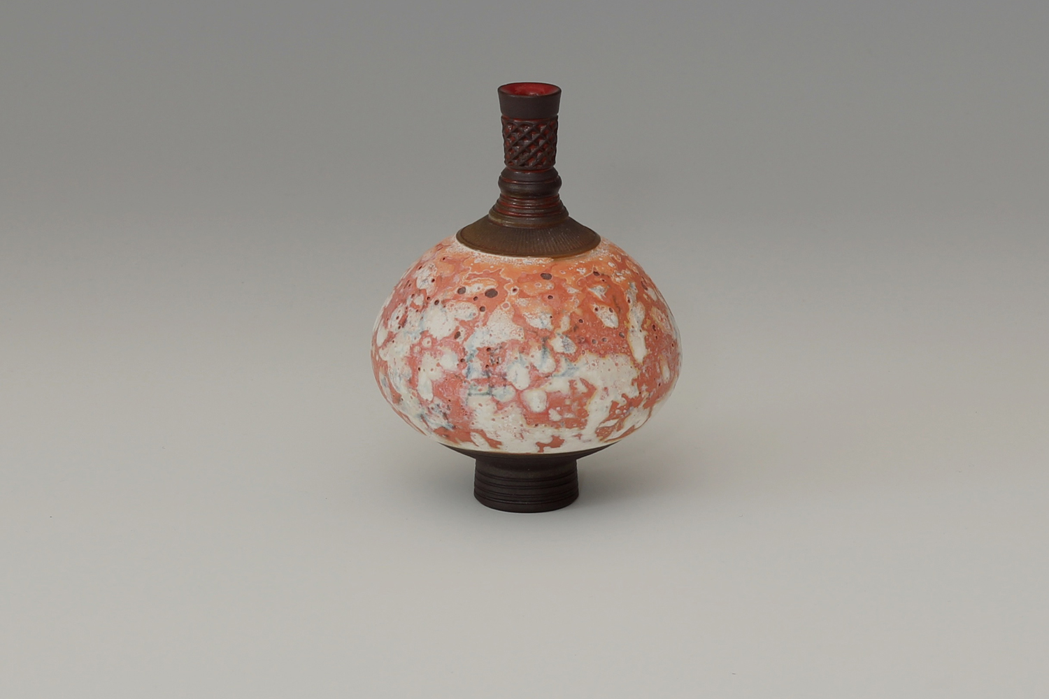 Geoffrey Swindell Ceramic Miniature Vessel 017