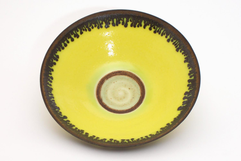 Peter Wills Yellow Ceramic Bowl 135