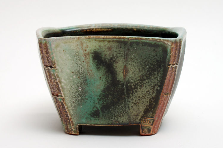 Jeff Oestreich Ceramic Footed Tea Bowl 002