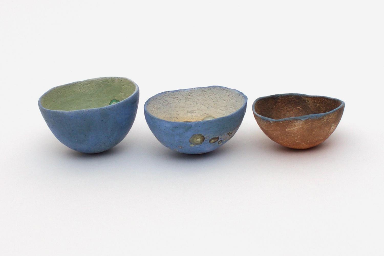 Elspeth Owen Three Small Ceramic Bowls