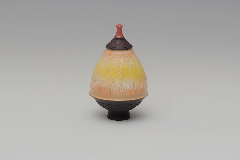 Geoffrey Swindell Ceramic Lidded Vessel 027