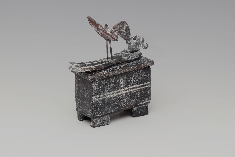 John Maltby Ceramic Princess & Raven Box 019