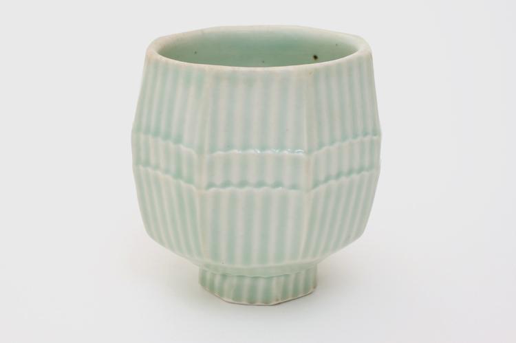 Jeffrey Oestreich Porcelain Yunomi 01