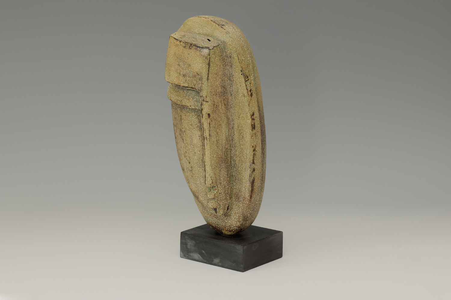 Peter Hayes Ceramic Sculpture of a Head 02