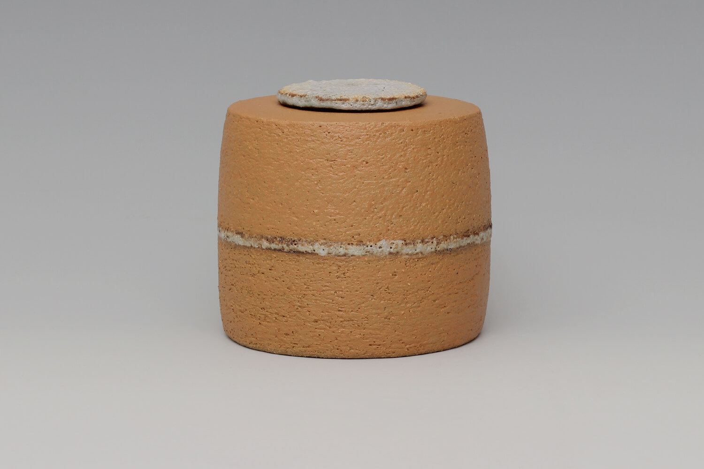 Rosalie Dodds Ceramic Ochre Jar 12