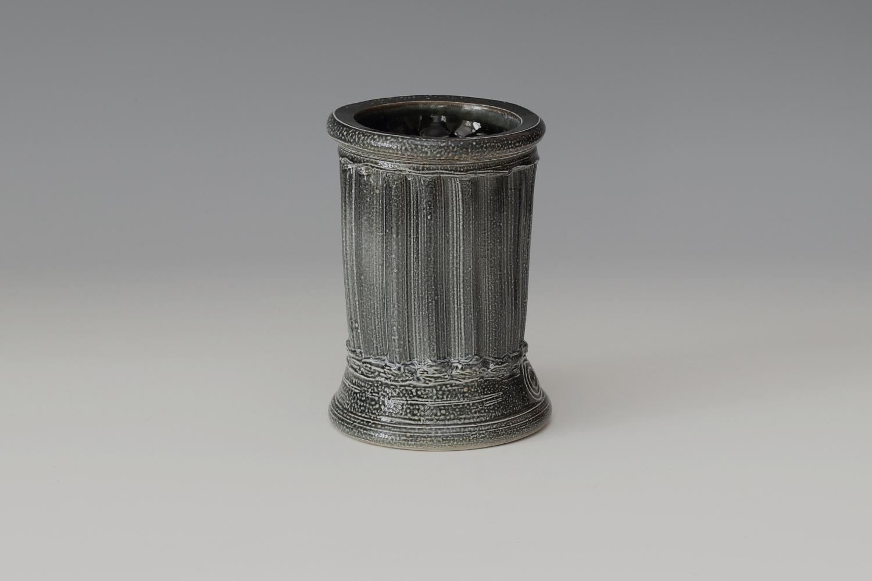 Walter Keeler Ceramic Salt Glazed Extruded Vase 02