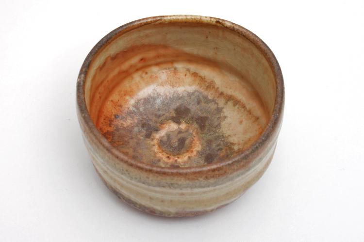Pascal Geoffroy Shino Tea Bowl 001