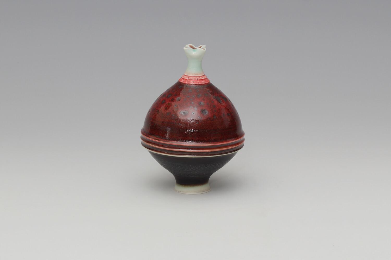 Geoffrey Swindell Ceramic Miniature Vessel 035