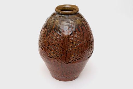 Mike Dodd Large Ceramic Bottle 06
