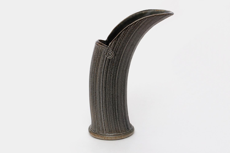 Walter Keeler Ceramic Salt Glazed Jug 041