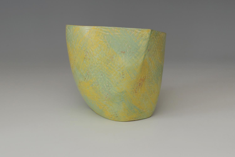 Carolyn Genders Ceramic Earthenware Vessel 'Wake Up Spring!'
