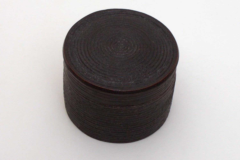 Chris Carter Ceramic Grooved Box 033