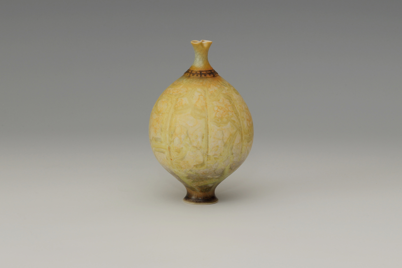 Geoffrey Swindell Ceramic Narrow Stemmed Vessel 29