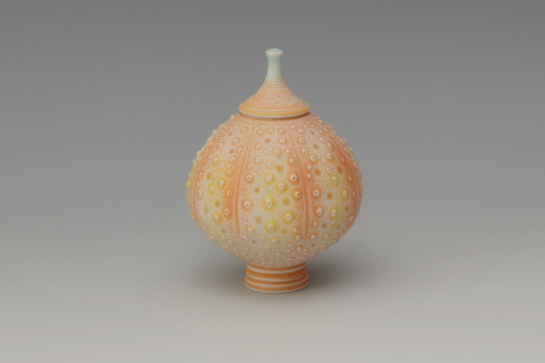 Geoffrey Swindell Ceramic Miniature Lidded Vessel 021