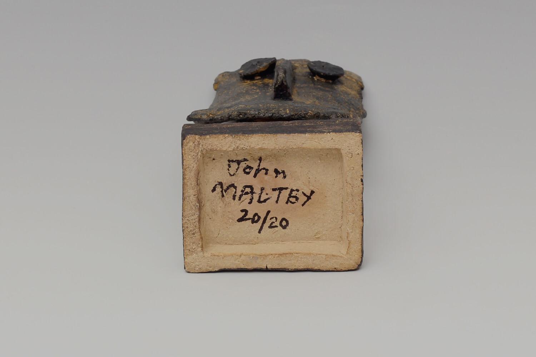 John Maltby Ceramic Sculpture of a King 031